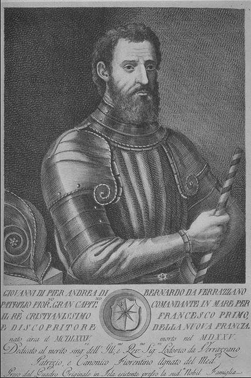 A picture of Giovanni da Verrazano